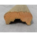 Decking Handrail Multi Groove 32mm x 65mm