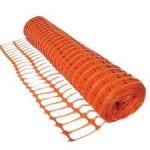 Orange PVC Stock Barrier Fencing 50m x 1m- 5.5kg