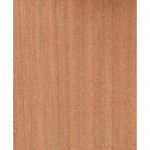 Sapele Veneered MDF - Quarter Sawn