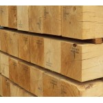 Construction Grade Green Oak 100mm x 100mm