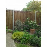 Danbury Closeboard Fence Panel - Brown Treated