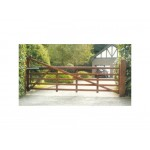 Danbury Estate Hardwood Field & Entrance Gate 1.016m High