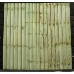 Bulk Closeboard Fence Panels 6' (w) x 4' (h) - Green Treated