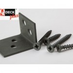 Q-Deck-Tite Metal Handrail Bracket Kit
