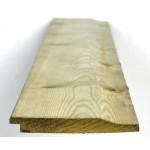 Green Treated Softwood Shiplap 16mm x 125mm