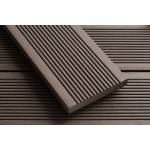'Q-Deck' Smartboard Composite Decking  Chocolate Brown 20mm x 138mm x 3.6m