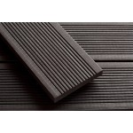 'Q-Deck' Smartboard Composite Decking Slate Grey 20mm x 138mm x 3.6m
