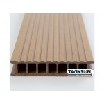 'Q-Deck' Twinson Composite Decking - Apricot Brown