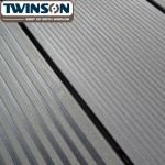 'Q-Deck' Twinson Composite Decking - Slate Grey