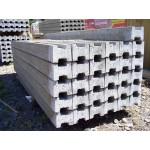 Slotted Intermediate Concrete Posts