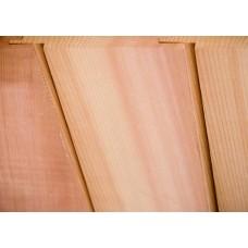 Western Red Cedar Cladding Vertical U Channel 25mm x 150mm - LT10
