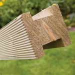 Softwood Treated Fence 'H' Post 100mm x 100mm, 2.4 metre length - Green Treated