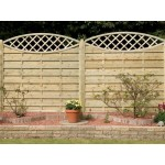 Decorative Seville Fence Panel 1.8m (h) x 1.8m (w) - Green Treated