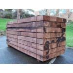 Bulk Buy New Brown Softwood Treated Railway Sleepers 200mm x 100mm x 1.2m